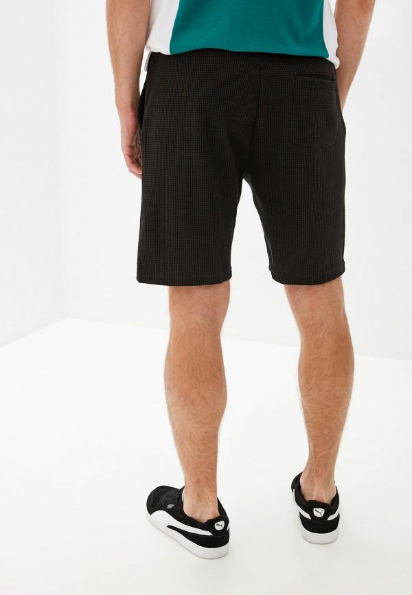 Фото 3 - мужские шорты Topman черного цвета