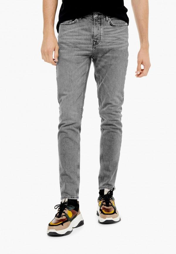 Фото - Мужские джинсы Topman серого цвета