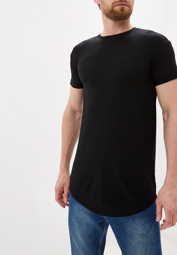 Фото - Мужскую футболку Topman черного цвета