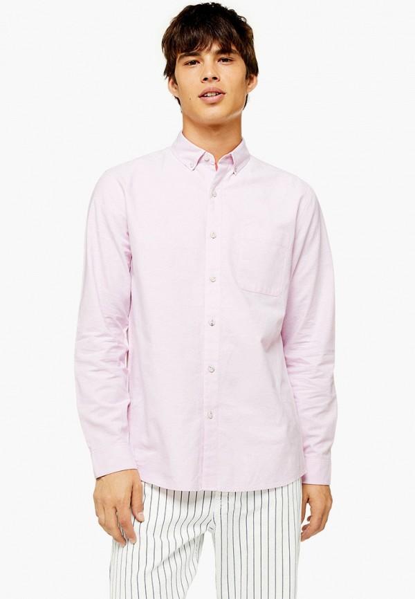 Фото - Мужскую рубашку Topman розового цвета