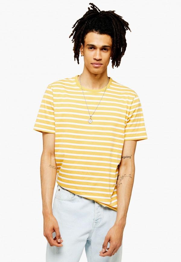 Фото - мужскую футболку Topman желтого цвета