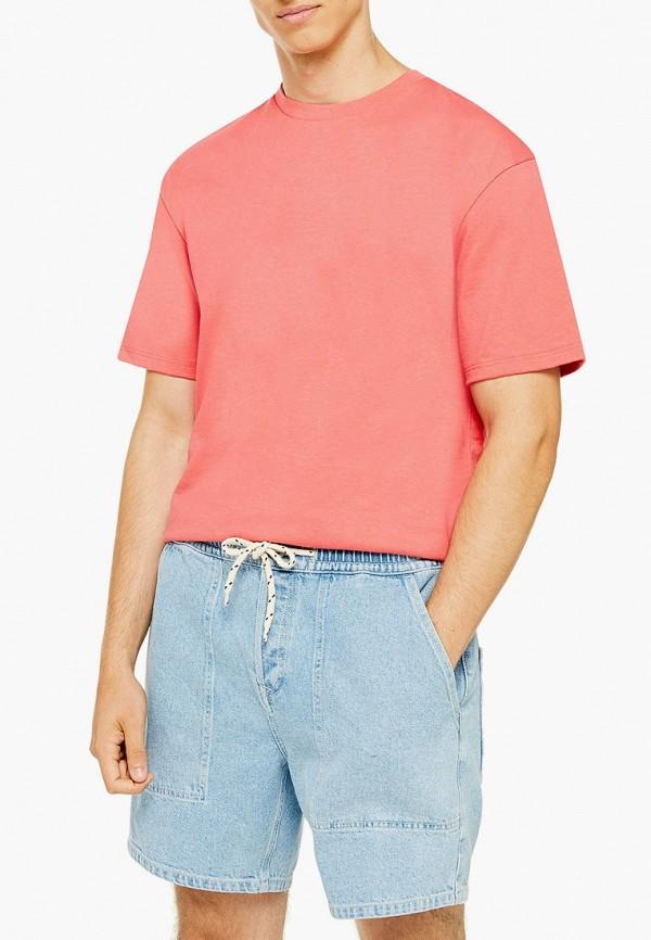 мужские джинсовые шорты topman, голубые