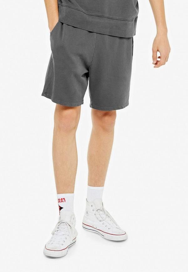 мужские повседневные шорты topman, серые