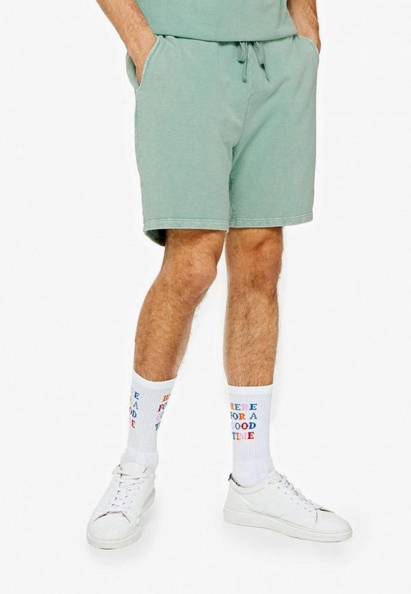 мужские повседневные шорты topman, зеленые