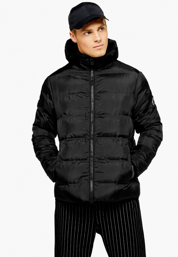 мужская куртка topman, черная