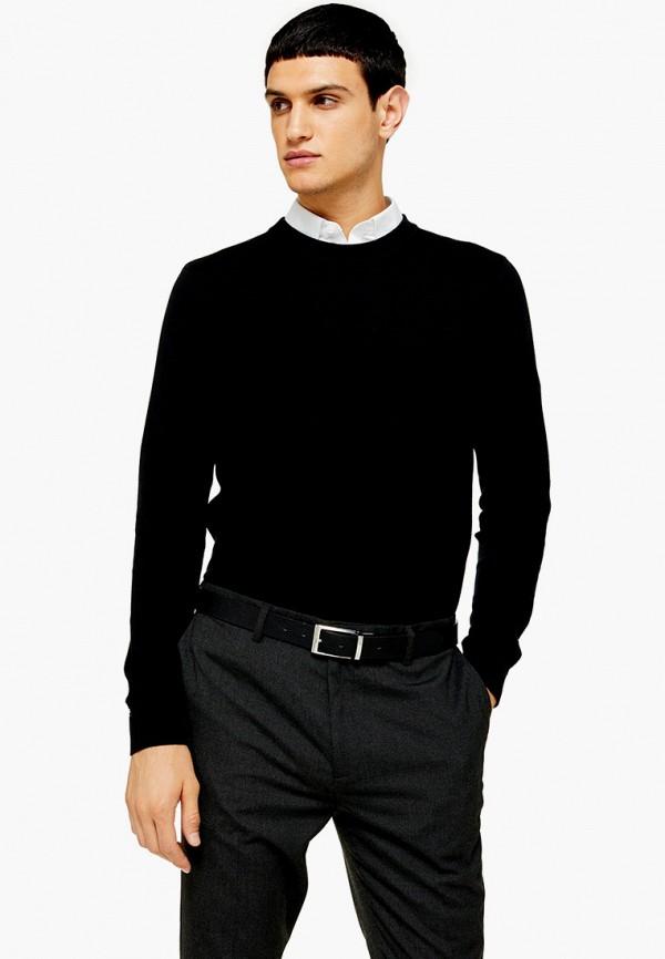 мужской джемпер topman, черный