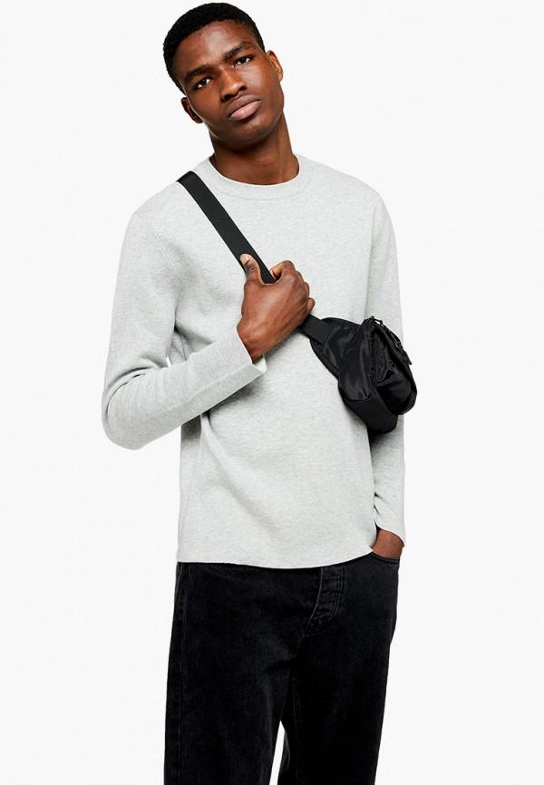 мужской джемпер topman, серый