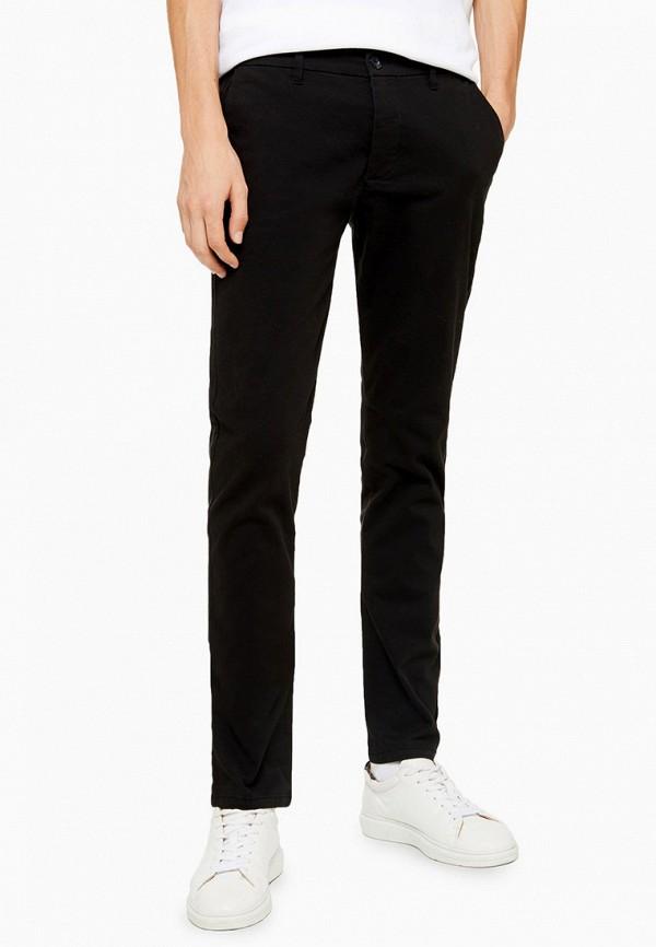 мужские брюки topman, черные