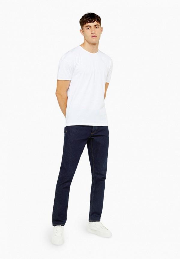 Фото 2 - мужские джинсы Topman синего цвета