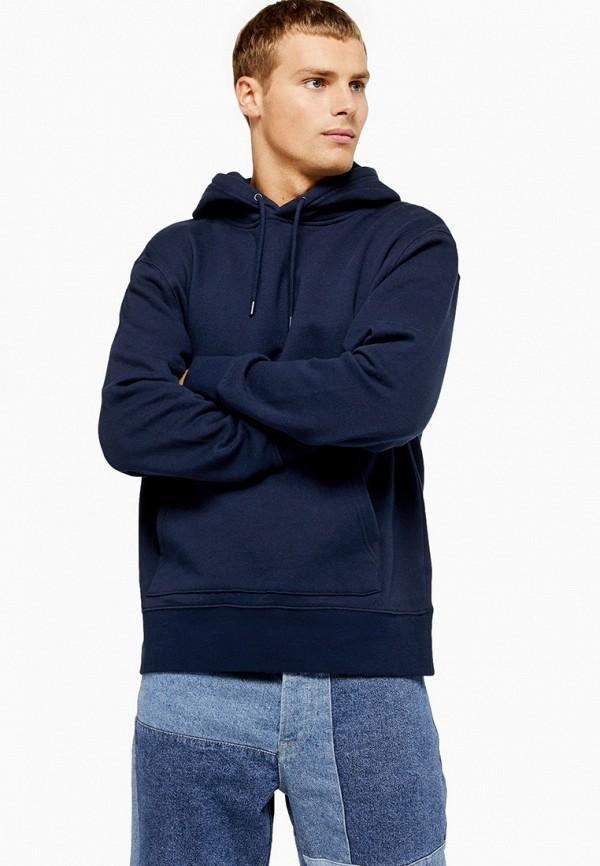 мужские худи topman, синие