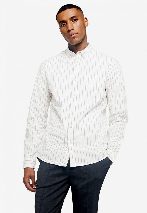 Фото - мужскую рубашку Topman белого цвета