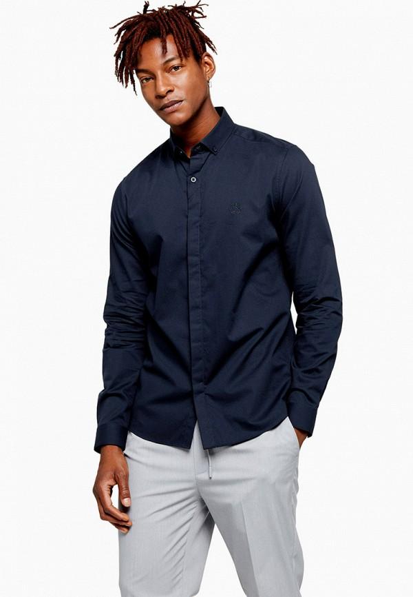 Фото - мужскую рубашку Topman синего цвета