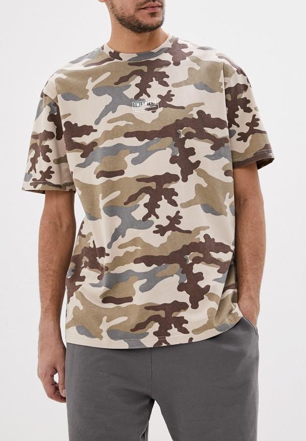 мужская футболка с коротким рукавом topman, разноцветная