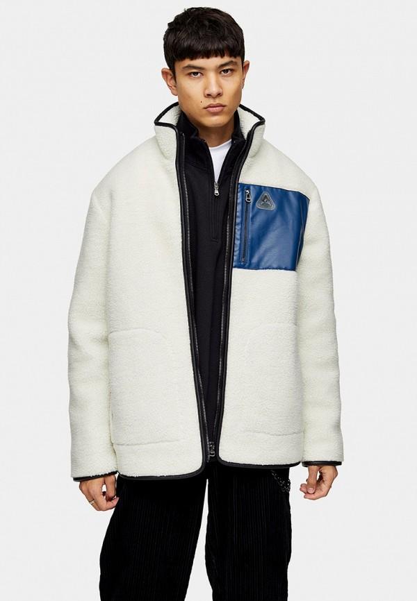 мужская куртка topman, белая