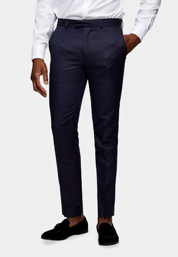 мужские классические брюки topman, синие