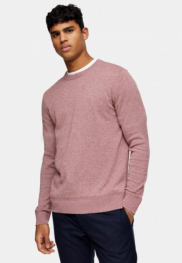 мужской джемпер topman, розовый