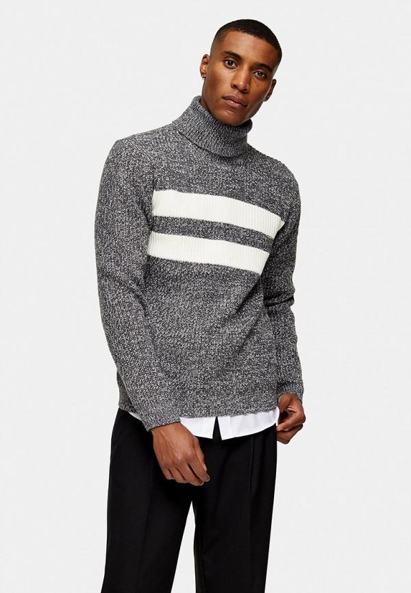 мужской свитер topman, серый