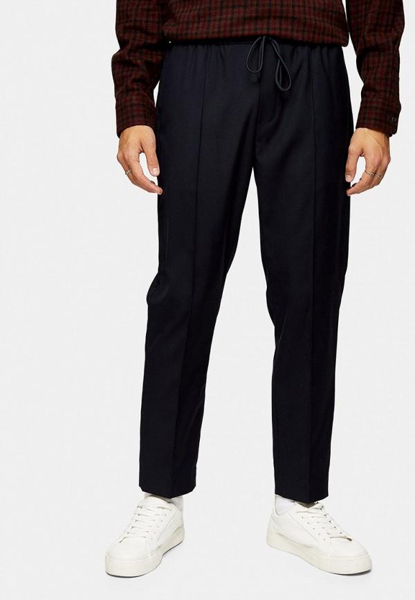 мужские прямые брюки topman, синие