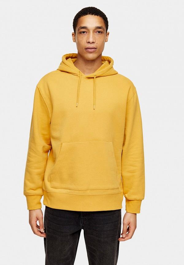 мужские худи topman, желтые