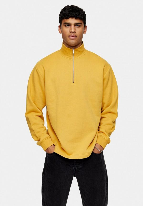 мужская олимпийка topman, желтая