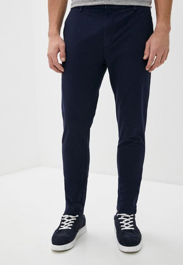 мужские повседневные брюки topman, синие