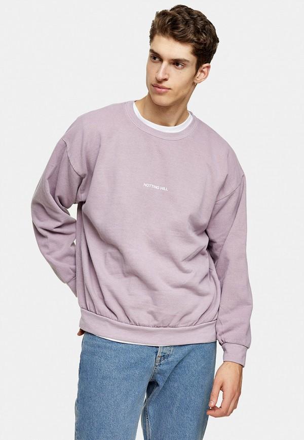 мужской свитшот topman, розовый
