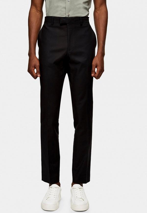 мужские классические брюки topman, черные