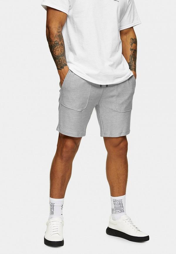 мужские спортивные шорты topman, серые