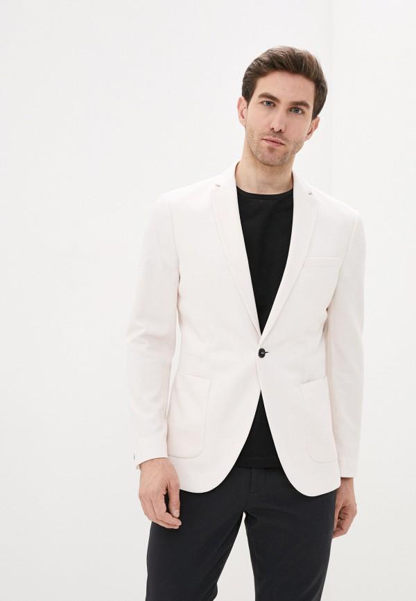 мужской пиджак topman, розовый
