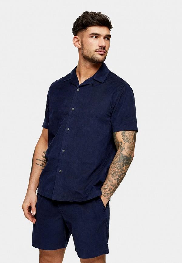 мужские повседневные шорты topman, синие