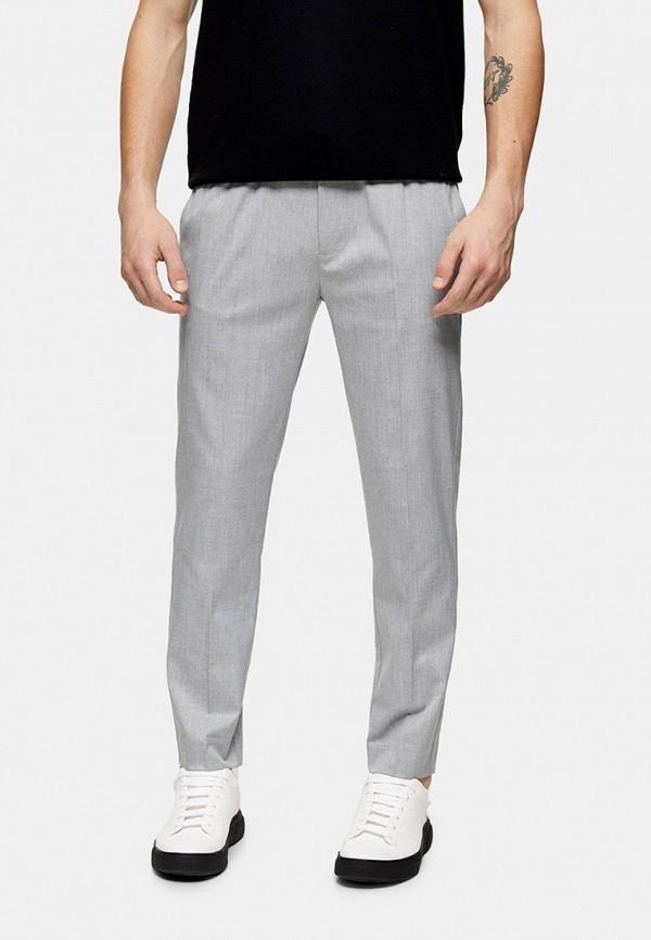 мужские классические брюки topman, серые