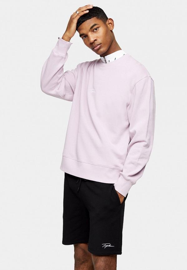 мужской свитшот topman, фиолетовый