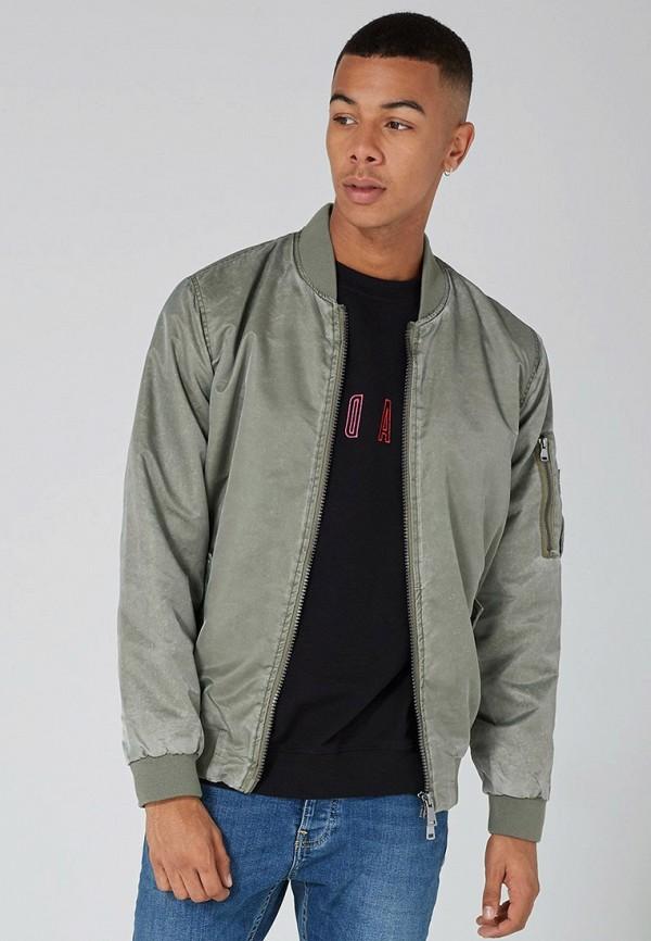 мужская куртка topman, хаки