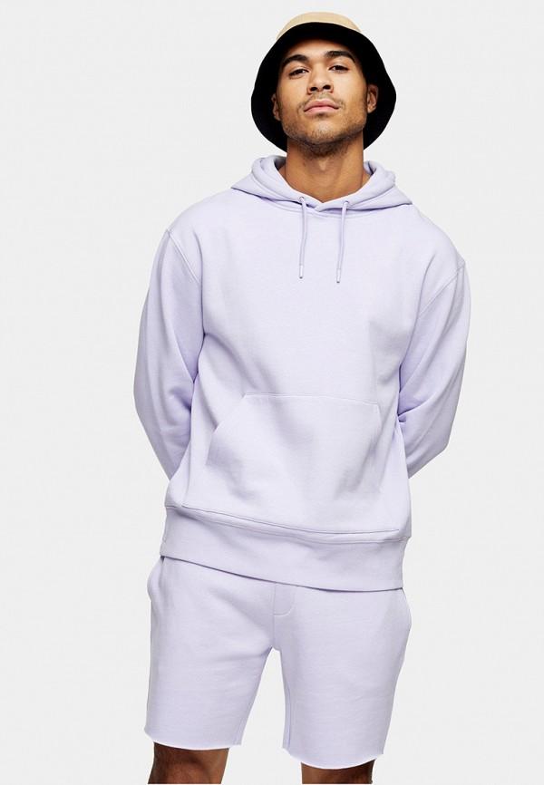мужские худи topman, фиолетовые