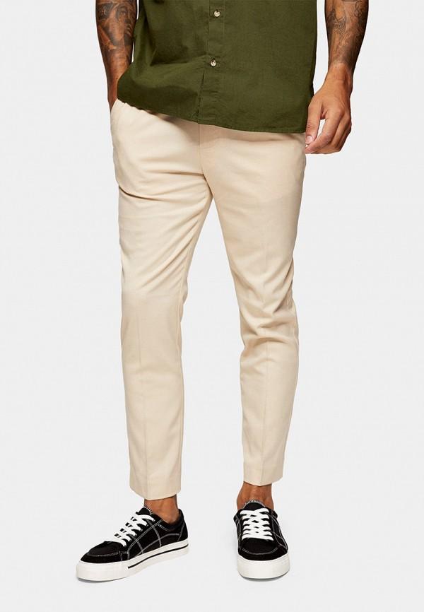 мужские брюки topman, бежевые