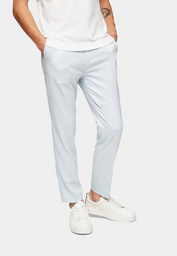 мужские брюки topman, голубые