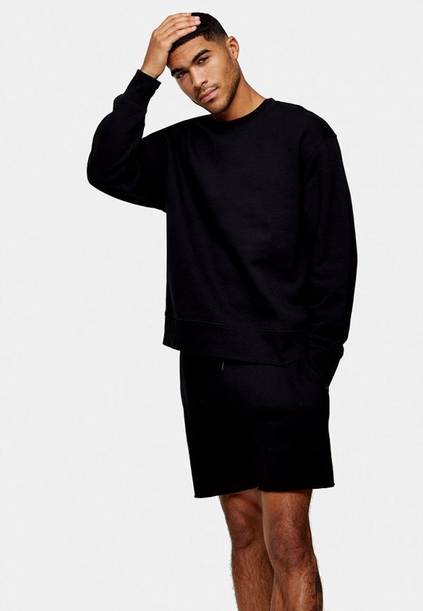 мужской свитшот topman, черный