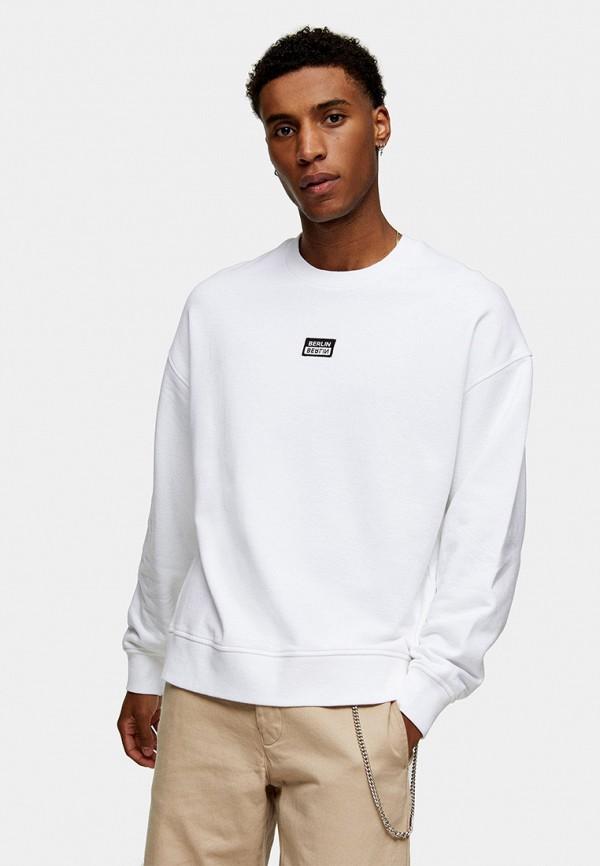 мужской свитшот topman, белый