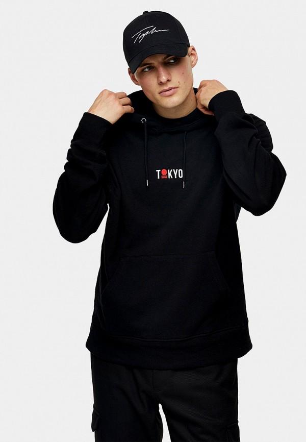 мужские худи topman, черные