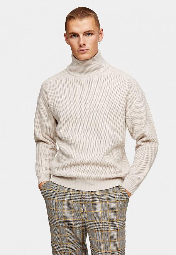 мужской свитер topman, белый
