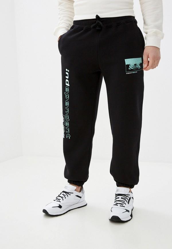 мужские спортивные брюки topman, черные
