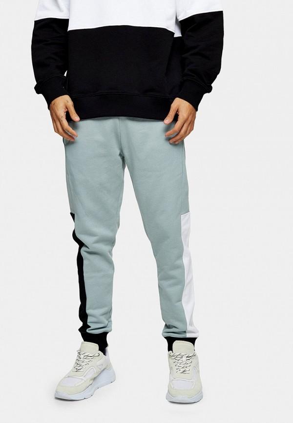 мужские спортивные брюки topman, бирюзовые