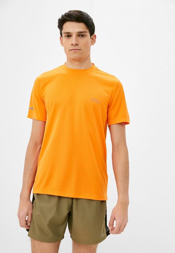 мужская спортивные футболка topman, оранжевая