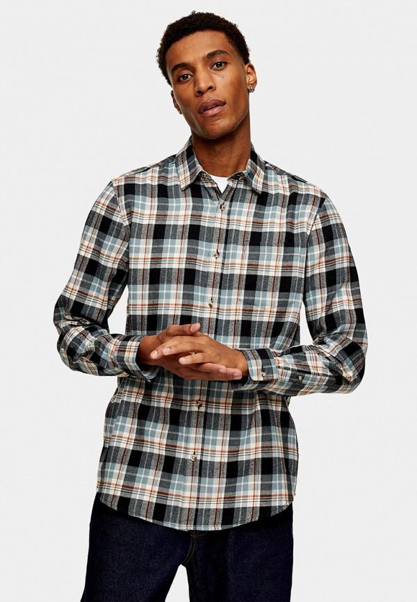 мужская рубашка с длинным рукавом topman, разноцветная