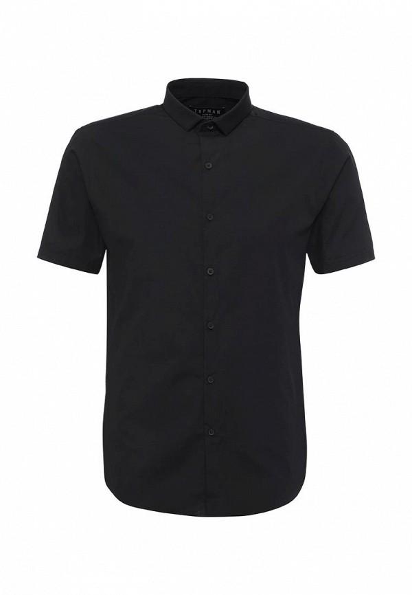 Фото - Мужскую рубашку Topman черного цвета