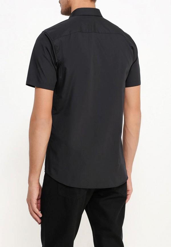 Фото 4 - Мужскую рубашку Topman черного цвета