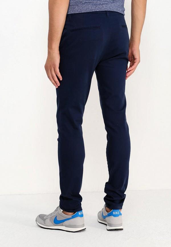 Фото 3 - мужские брюки Topman синего цвета