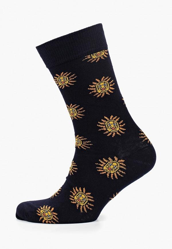 Носки  черный цвета