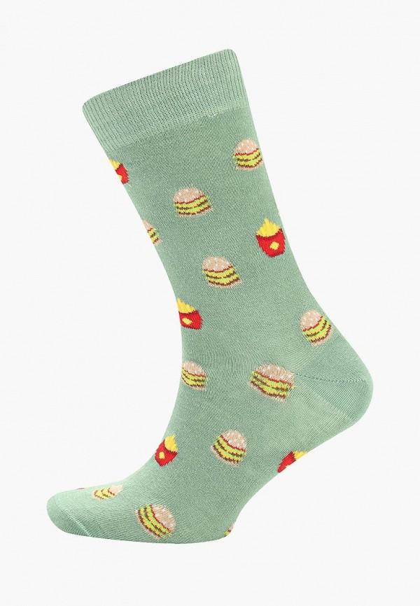 мужские носки topman, зеленые