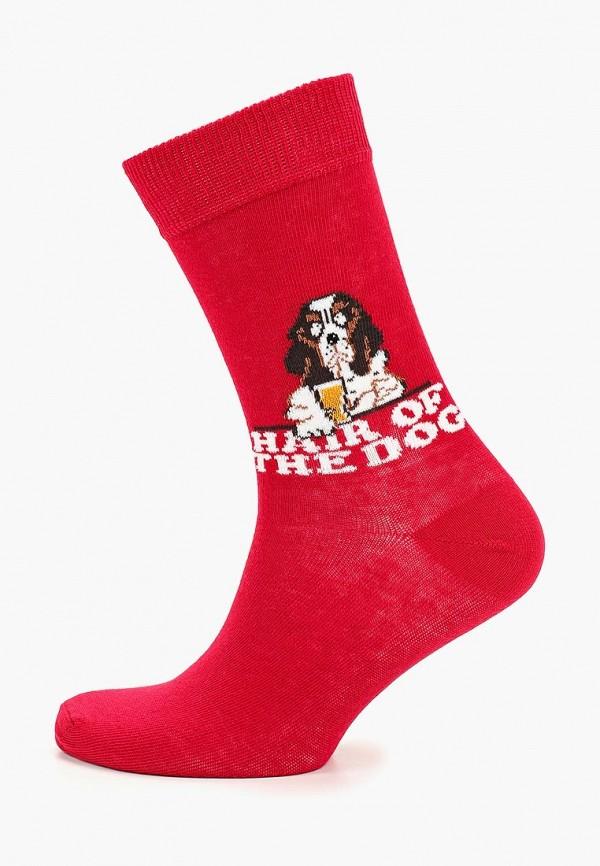 мужские носки topman, красные